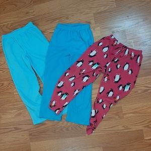 Other - 3/$15 girls pajama pant bundle.   Q5